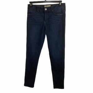 democracy ab solution dark wash jeans with elastic